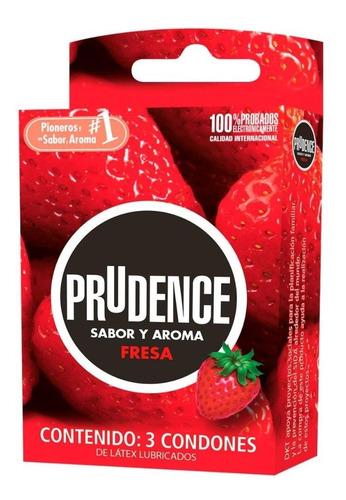aceite prudence kit con condones sabor fresa env gratis