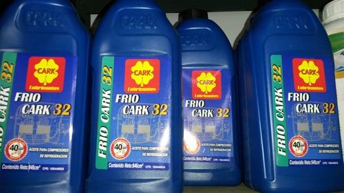 aceite refrigeración frio cark 32 para compresores