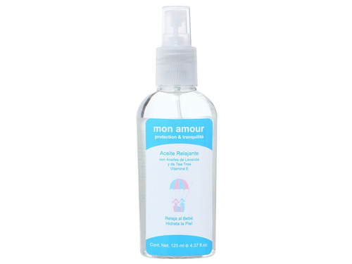 aceite relajante para bebé mon amour protection and tranquil