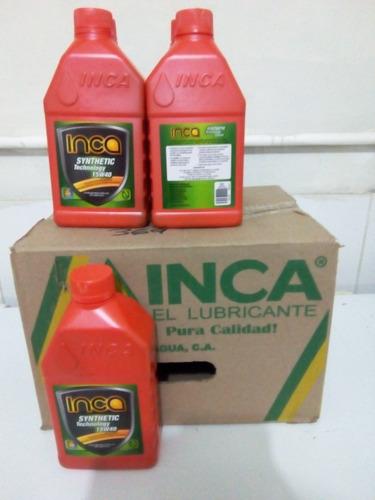 aceite semisintetico 15w40 y 20w50  inca tienda fisica