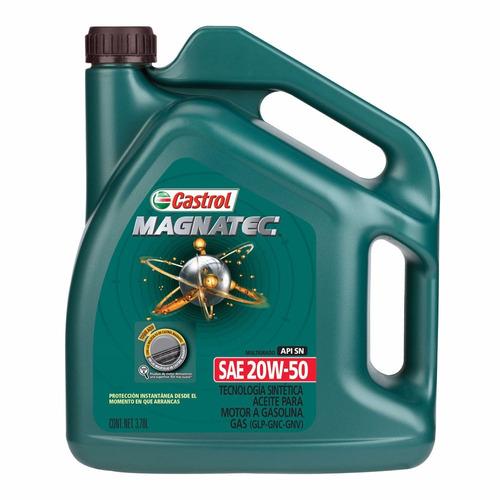 aceite semisintetico castrol magnatec 20w50 4 litros - nolin