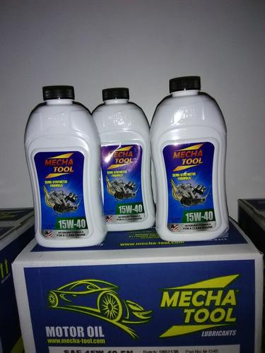 aceite semisintetico mecha tool al mayor 15w40