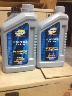 aceite semisintetico venoco 15w40 y 20w50 (5$)
