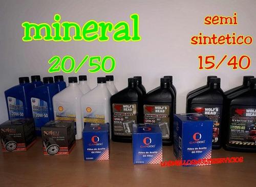 aceite semisintetico y mineral importados
