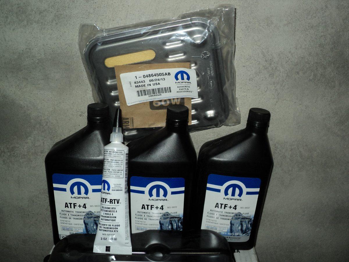Aceite Sintetico Atf 4 Mopar Para Transmisiones