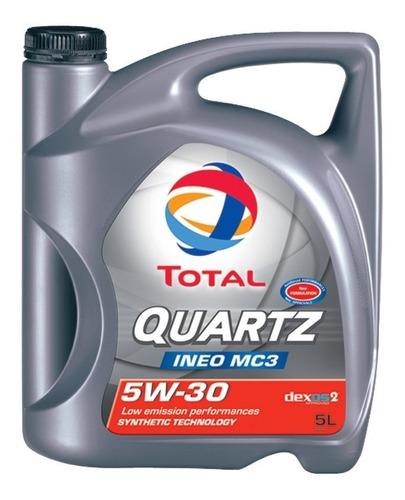 aceite sintético total quartz ineo mc3 5w30 x 4 litros