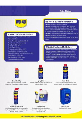 aceite spray wd 40 x 11 onzas licavir 1440311