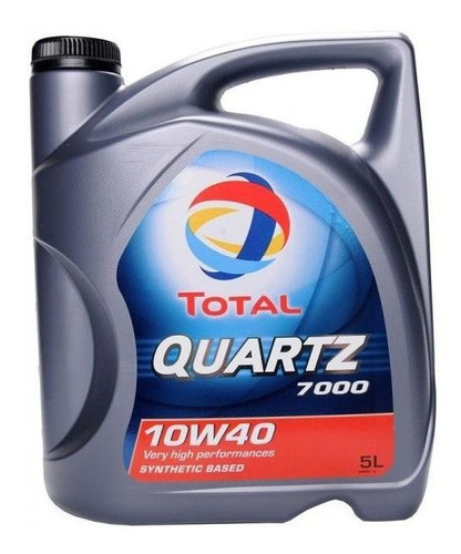 aceite total 7000 10w40 (semisintetico) x 4lts