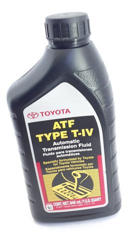 aceite transmision toyota atf+4 iv original