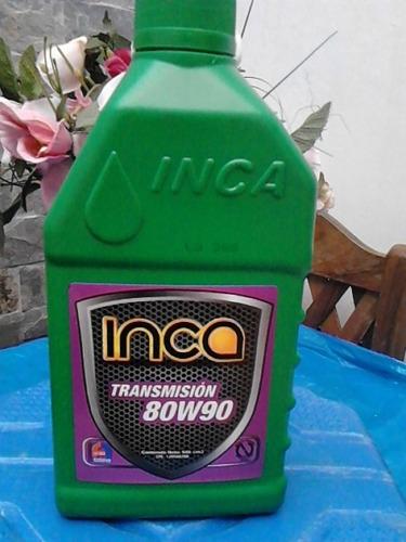 aceite transmision y caja de cambio manuales 80w90 inca