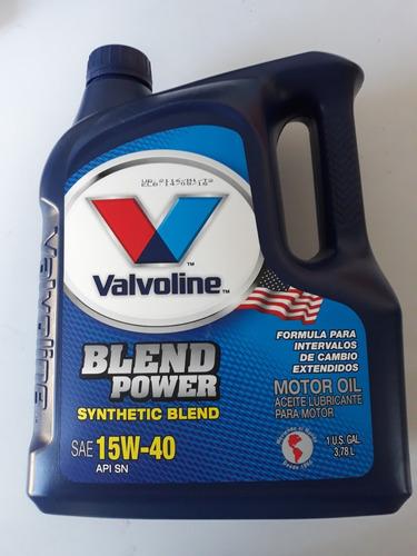 aceite valvoline 15w40 semisintetico litros oferta!!!
