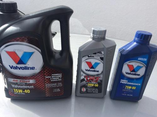 aceite valvoline para motor