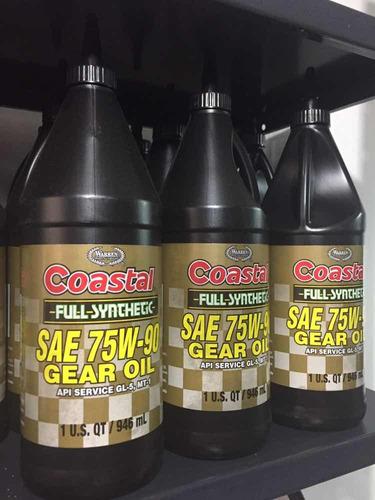 aceite valvulina 75w90 full sintético / nuevo tienda fisica
