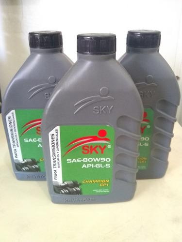 aceite valvulina 80w90 sky al mayor y detal
