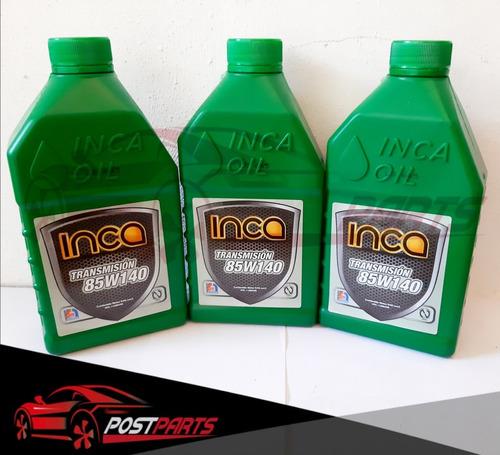 aceite valvulina 85w 140 sellado nacional inca original prem
