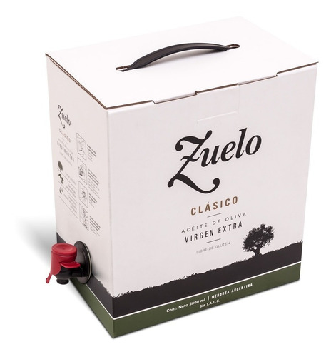 aceite zuelo clasico - familia zuccardi 5 litros - celler