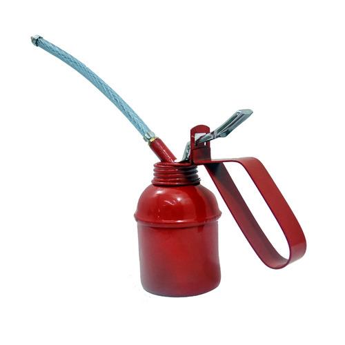 aceitera flexible 200 cm3 bomba acero obi