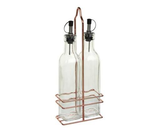 aceitera y vinagrera soporte cobre 280ml