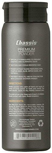 aceites chasis premium body powder para hombres,