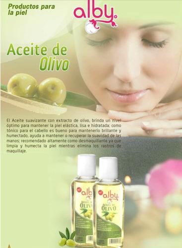 aceites corporales: olivo, almendras, ricino, coco y gliceri