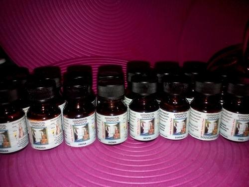 aceites esenciales mandarina fresa menta y otros