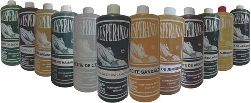 aceites para masaje 1 litro (paquete de 12 unidades).
