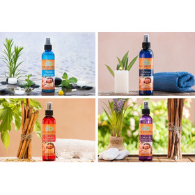 Aceites Para Masaje Relajantes 4 Menta, Lavanda,canela,relax