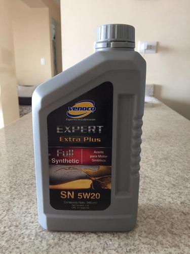 aceites sintético 5w20 venoco garantizado