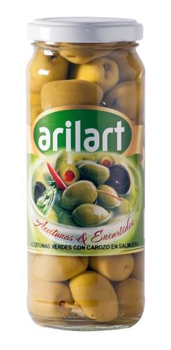 aceitunas verdes clásicas x 180 gr - arilart