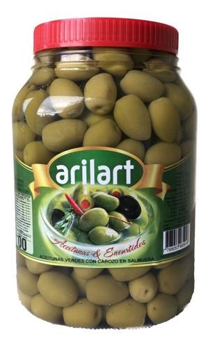 aceitunas verdes grandes x 2 kg - arilart