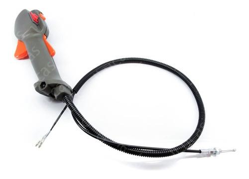 acelerador completo com cabo roçadeira 226r 236r 143rii