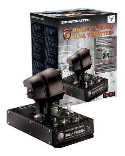 acelerador hotas vuelo thrustmaster warthog dual flight sim