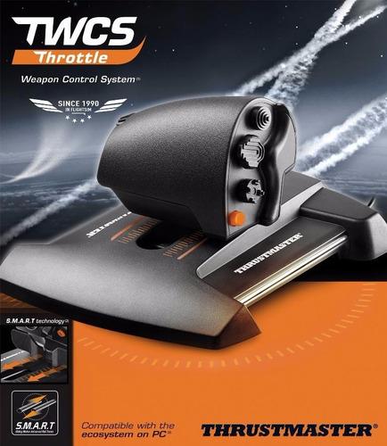 acelerador potencia joystick pc throttle vuelo thrustmaster