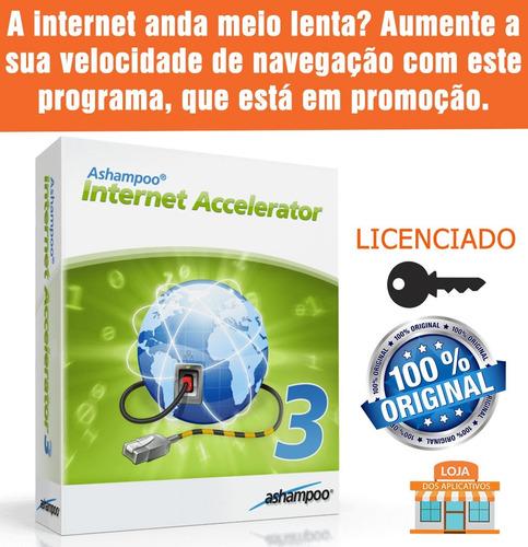 acelere a sua internet/ashampoo internet accelerator 3