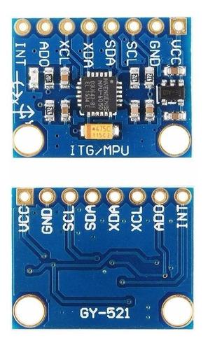 acelerómetro y giroscopio gy-521  mpu-6050