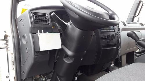 acello 1016 semi novo baú refrigerado com  rastreador