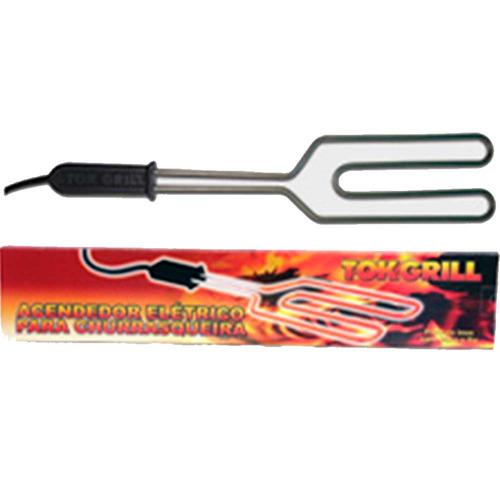 acendedor eletrico para churrasqueira a carvao apenas 220v
