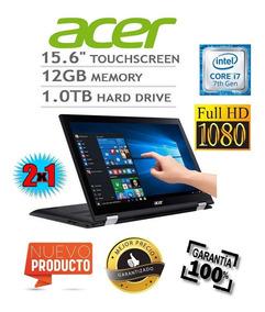 Hoy 35% Off Acer 2 En 1 Core I7 7500,12gb,1tb,4gb Unica