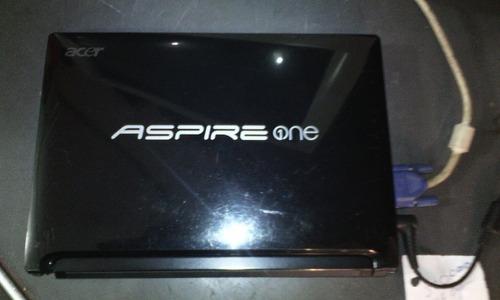 acer aspire one d255e con cargador original.