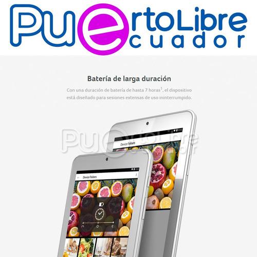 acer iconia potente ! = samsung tab android 7 16gb + regalos