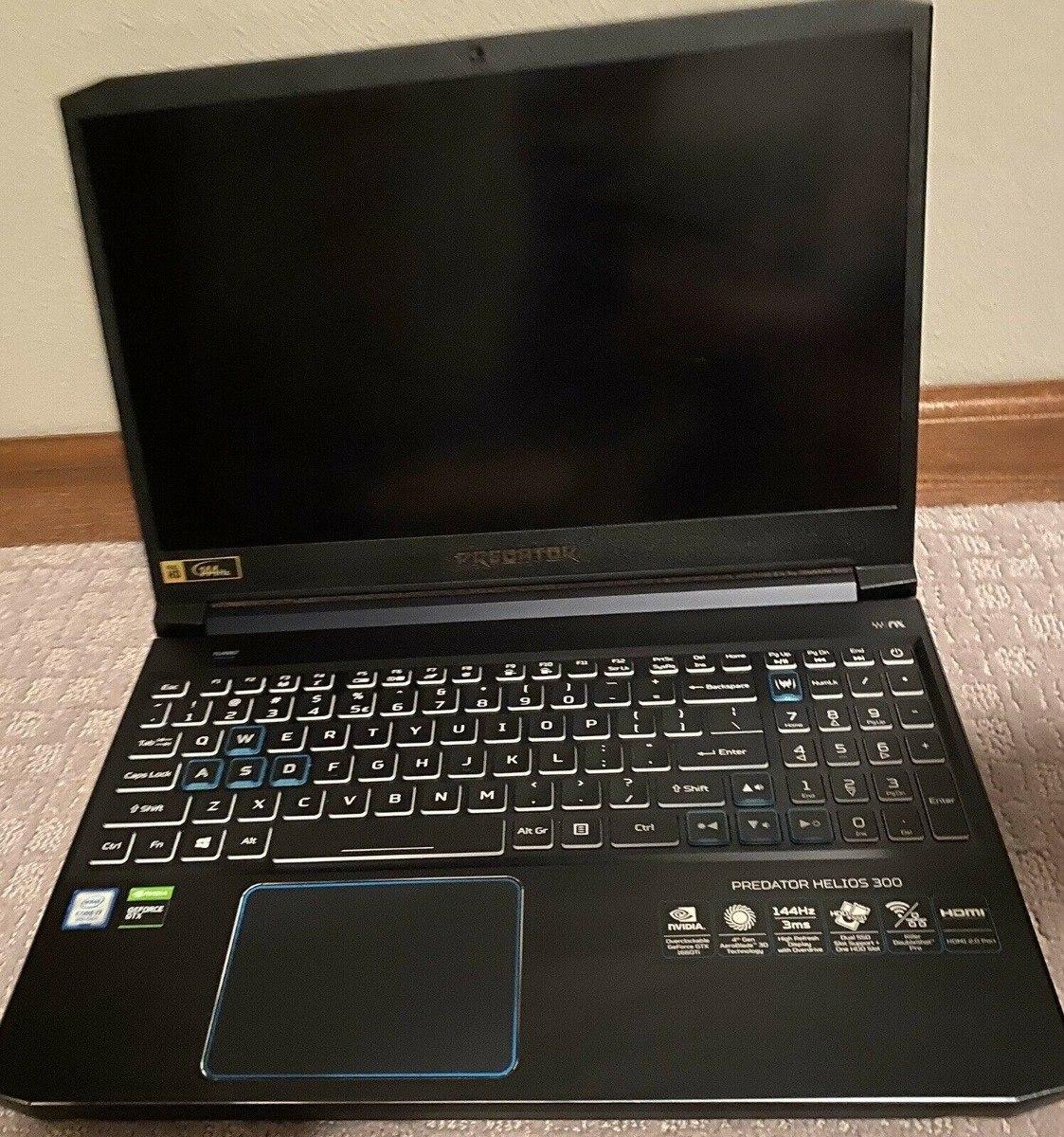 Acer Predator Helios 300 15 6 Pulgadas I7 9750h Gtx1660ti