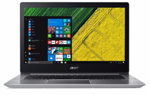 acer swift 3 i5-8250 nvidia mx150 14  full hd 8gb ddr3 256gb