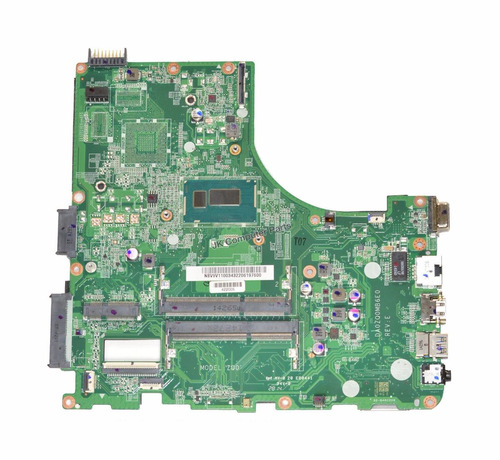 acer touch v5 v5-431p/531p laptop motherboard  intel pentium