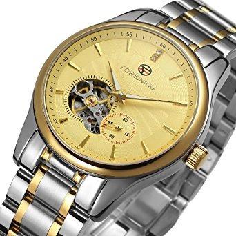 acero inoxidable reloj automático de los hombres fsg9406m4