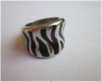 acero joyas anillos