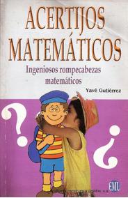 Rompecabezas Ingeniosos Matemáticos Acertijos Matemáticos Acertijos Ingeniosos Matemáticos Matemáticos Rompecabezas CQrhtsd