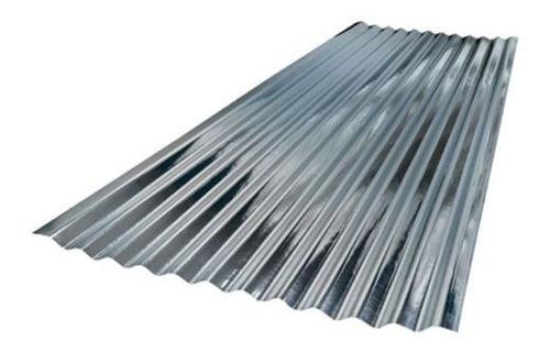 acesco teja zinc ondulada 2.438mt x 80cm cal. 35 0.1 tdchc-1