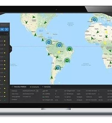 acesso a plataforma de rastreamento