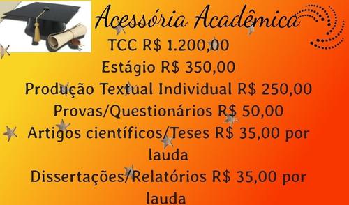 acessória acadêmica