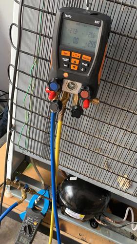 acessória em sistemas de manutenção em refrigeração